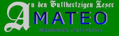 MATEO –http://www.uni-mannheim.de/mateo/index.html