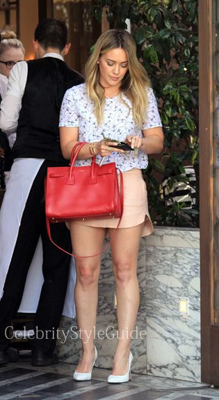 Pin By Celebrity Style Guide On Hilary Duff Style Fashion Pinterest Celebrity Style Guide