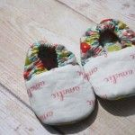 Personalized baby shoes. www.fawnandclover.com