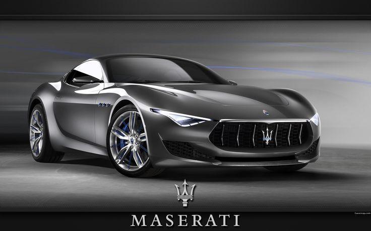 Fond d'écran Voiture Maserati Alfieri.