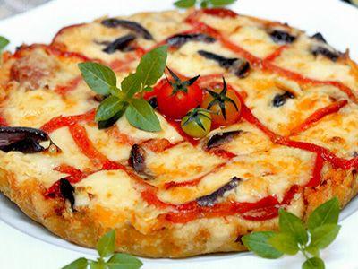 Pizza crocante Alvaro Rodrigues