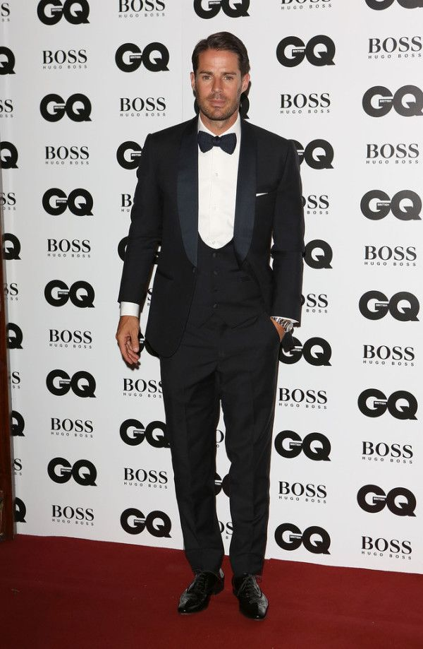 Fabulously Spotted: Jamie Redknapp Wearing Thom Sweeney - 2013 GQ Men Of The Year Awards - http://www.becauseiamfabulous.com/2013/09/jamie-redknapp-wearing-thom-sweeney-2013-gq-men-of-the-year-awards/