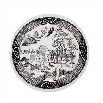 Living & Giving - Maori Willow Plate 31cm