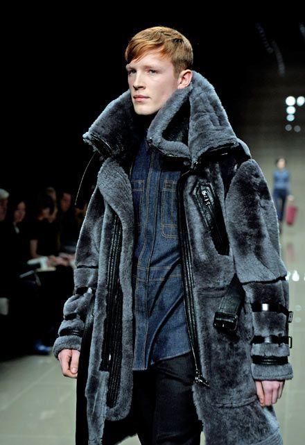 men fur coats