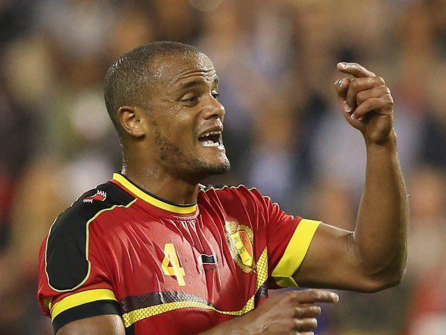 Belgium boss Roberto Martinez: 'Vincent Kompany is not injured'