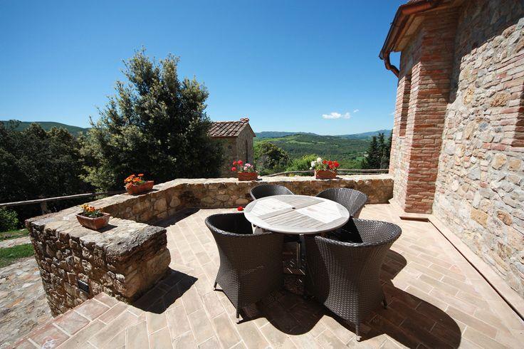 Terrazza panoramica per vacanze relax.