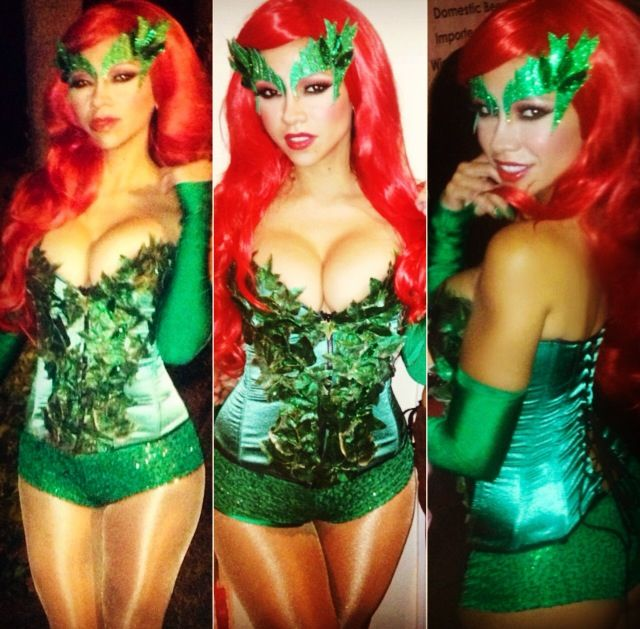 Poison Ivy Costume I made for this year