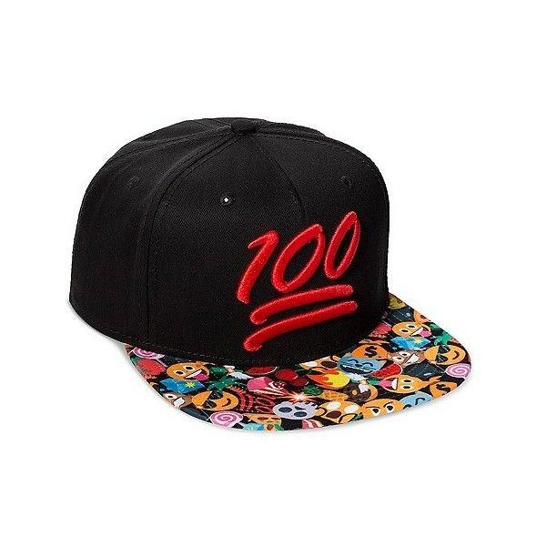 best sneakers 403cc 02546 ... best price emoj 100 emoji baseball cap black one size 64805 c0093