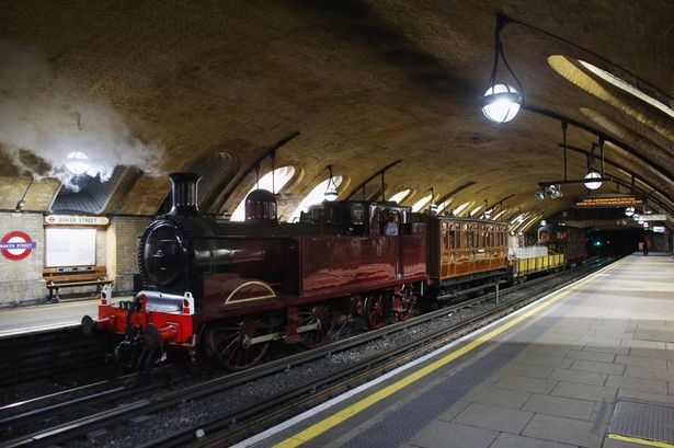 The choo-Tube train: First steam train for over 100 years runs on London Underground