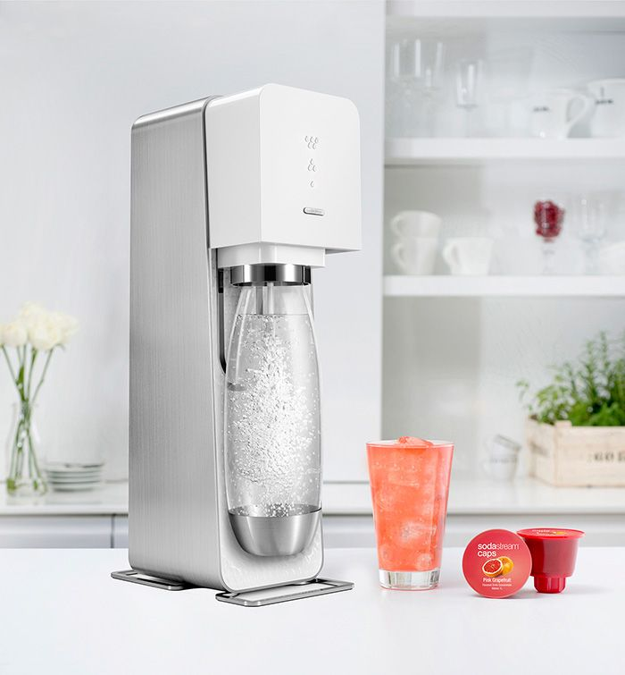Check out Carrie's fizzy review of her SodaStream Source!
