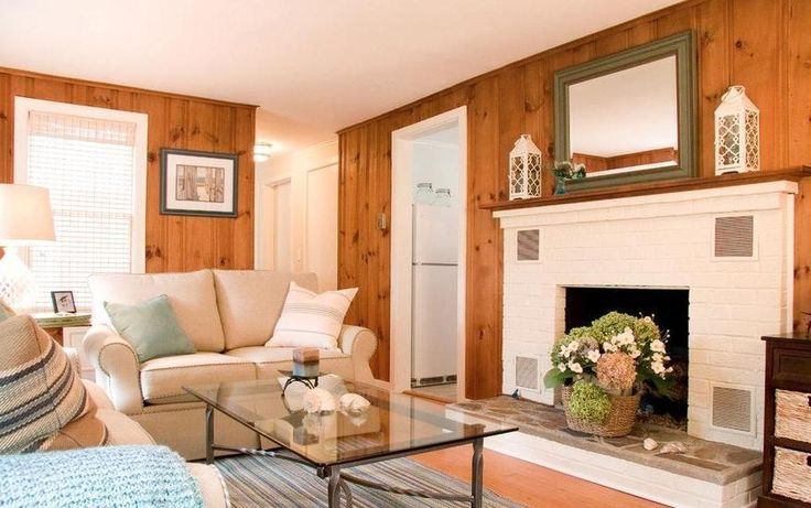 Knotty Pine Paneling For Modern Living Room #25 | Latest ...