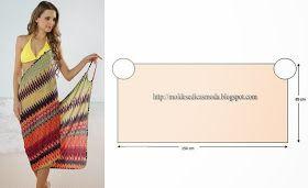Molds Fashion for Measure: BEACH DRESS EASY TO DO