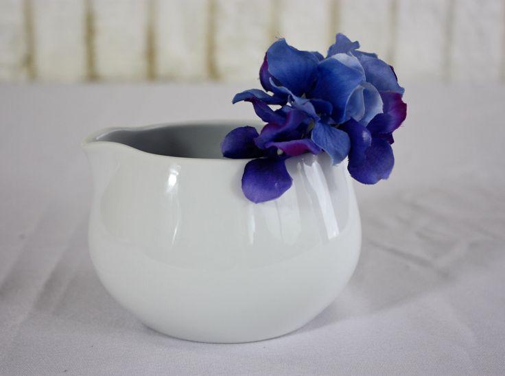 Vintage NORITAKE Cook N Serve ANGELA White Porcelain Gravy Boat | 1 Pint Double Spout |  Mid Century Modern | Creamer Planter | Japan by CitizenNEST on Etsy https://www.etsy.com/listing/466153419/vintage-noritake-cook-n-serve-angela