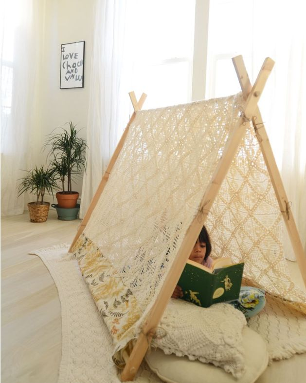 "I need to make one of these for my studio!  Along w/ sign- ""no dogs allowed""  diy a-frame tents (3)"