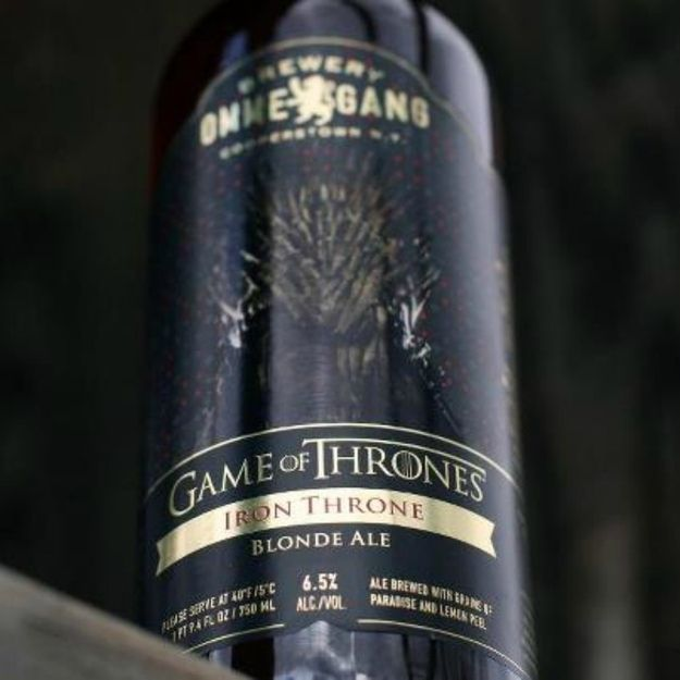 """Serve Ommegang's Iron Throne Blonde Ale… - by Natalie Brown 