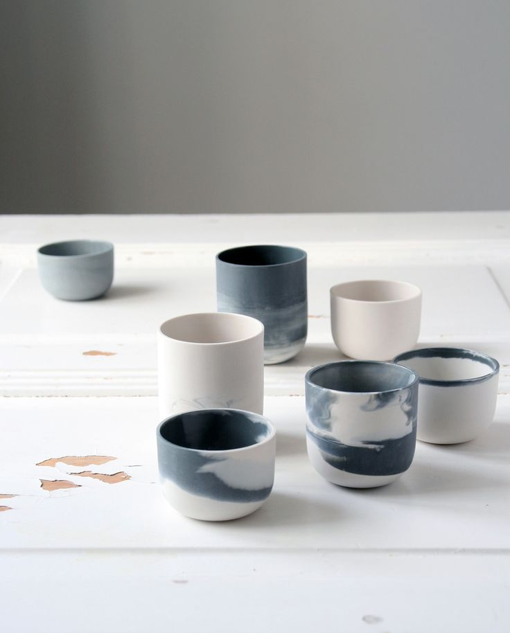 Marmoreal mugs by STUDIO smoo Photo: Salla-Mari Kinnunen