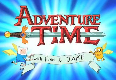 Adventure Time http://images.wikia.com/adventuretimewithfinnandjake/images/9/9c/Adventure-time-logo.png