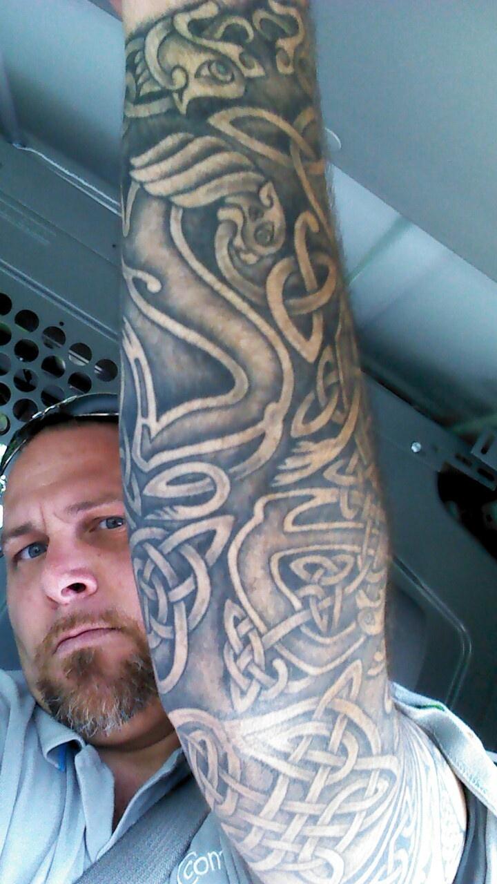 Over 1000 billeder af tattoo ideas p pinterest tat for Celtic sleeve tattoo