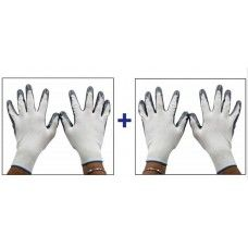 Accedre Summer Bike/Scooter Riding / Driving Gloves-White(set of 2), 44111