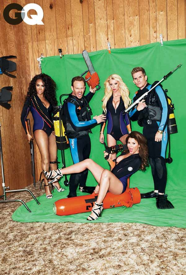 Sharknado 2 Cast, GQ magazine