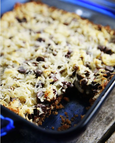 Fat Witch Bakery Congo Bars Recipe | Cookie Bars Recipes | Savory Sweet Life - Easy Recipes from an Everyday Home Cook