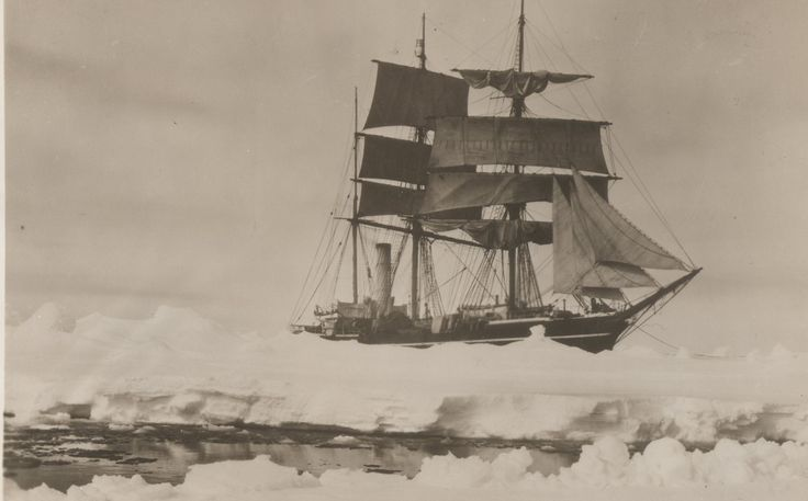 Amazing race to the bottom of the world | Scott's ship Terra Nova 1910