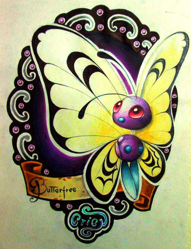 40 best images about Pokemon Butterfree