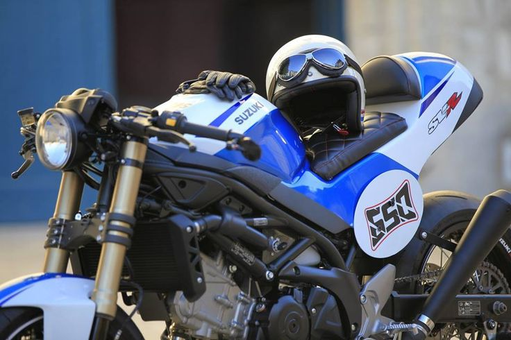 This 650 sv has been created to participate in coffee preparation SUZUKI racer FRANCE contest based on the new 650sv   This new deve...