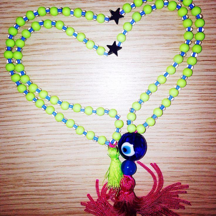 #Necklace #evileye