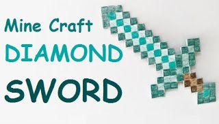Anikó Dóbiász: Minecraft DIAMOND sword