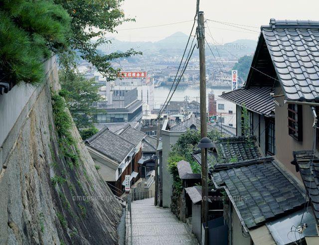 尾道の町と尾道水道 (c)orion