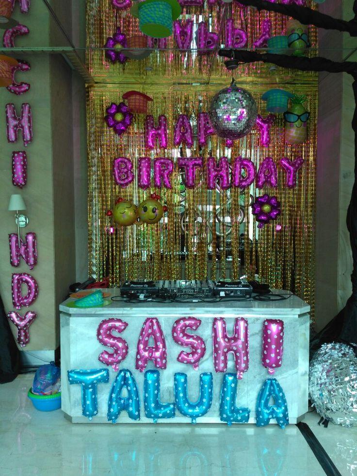 80's DJ at birthday party