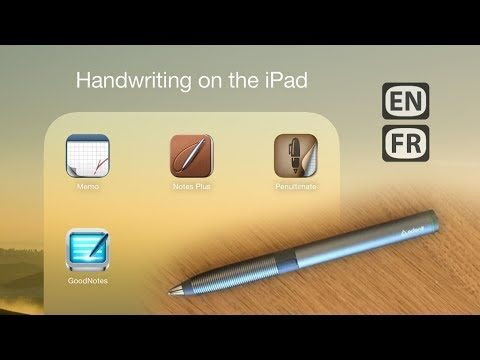 In this video, I show some features of four iPad apps using the Adonit Jot Script Evernote Edition, and focusing on handwriting with a stylus. See how taking...