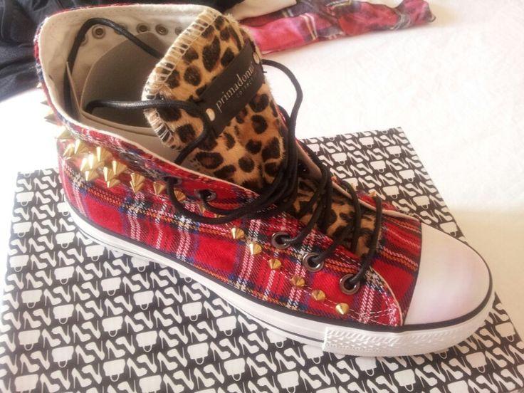 Scarpe primadonna:scozzese, borchie e leopardato ...il top!