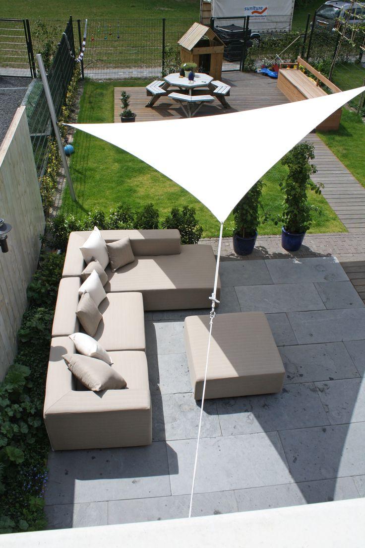 Ingenua sonnensegel dreieck solo oder komplett for Gartengestaltung dreieck