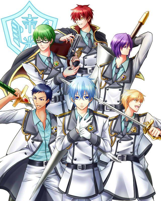 Kiseki No Sedai Generation Of Miracles