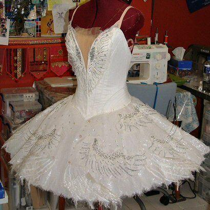 Professional Ballet Tutus - wedding dress if she can make a full skirt