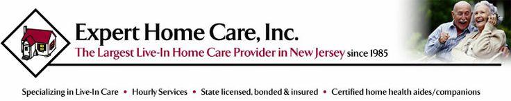 home healthcare NJ, home health aide NJ, home care agencies in NJ --> http://www.experthomecare.com
