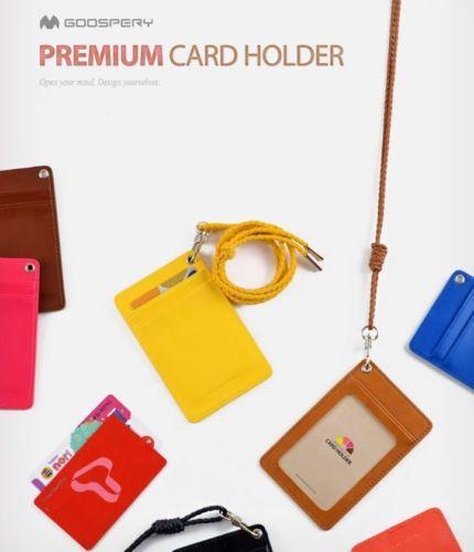 Goospery ID Badge Holder with Lanyard/ID Holder Lanyard/ID Card Holder