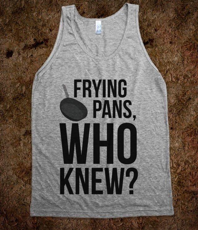 Frying Pans - Annchor - Skreened T-shirts, Organic Shirts, Hoodies, Kids Tees, Baby One-Pieces and Tote Bags Custom T-Shirts, Organic Shirts, Hoodies, Novelty Gifts, Kids Apparel, Baby One-Pieces | Skreened - Ethical Custom Apparel