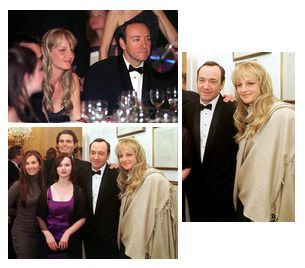 By request, Kevin with Helen Hunt. Best I could...   Kevin Spacey