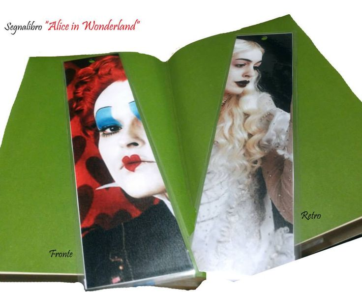 Segnalibro Alice in Wonderland: https://www.facebook.com/ITuoiRegaliPersonalizzati/photos/a.165738376957146.1073741851.139950632869254/165738453623805/?type=3&theater
