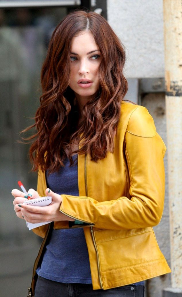 Megan Fox hair color i love..