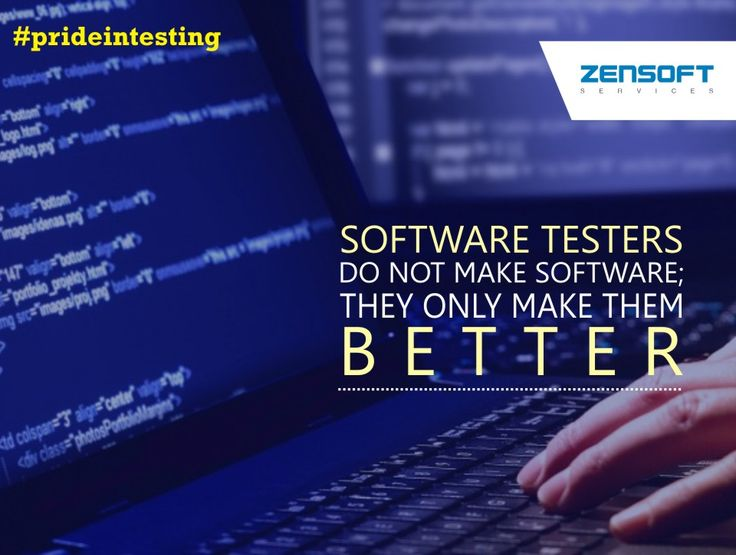 This software testing quote empathizes with QA professionals - software quote