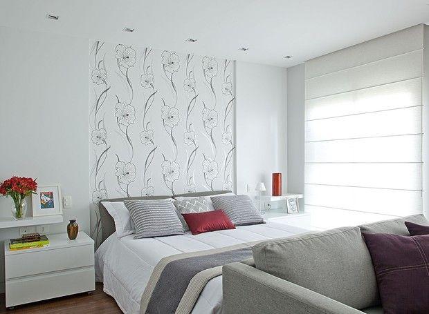 Quarto reformado ganha mais claridade e decoração clássica  - Casa e Jardim | Quarto de casal