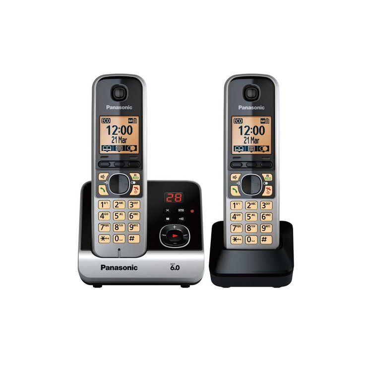 Panasonic Twin Handset with Answer Phone - KXTG6722NZB online buying best offer at Betta Electrical NZ