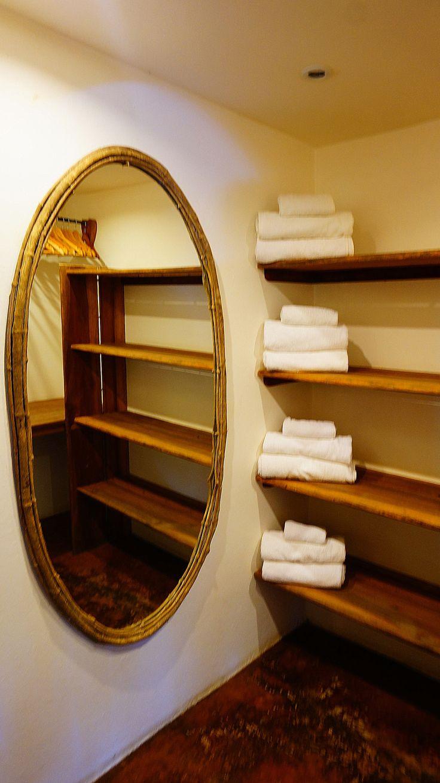 Your walk-through closet (spacious and custom-made too).