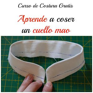 A partir de ahora, y gracias a este tutorial, podrás añadir un cuello mao a tus creaciones de costura.
