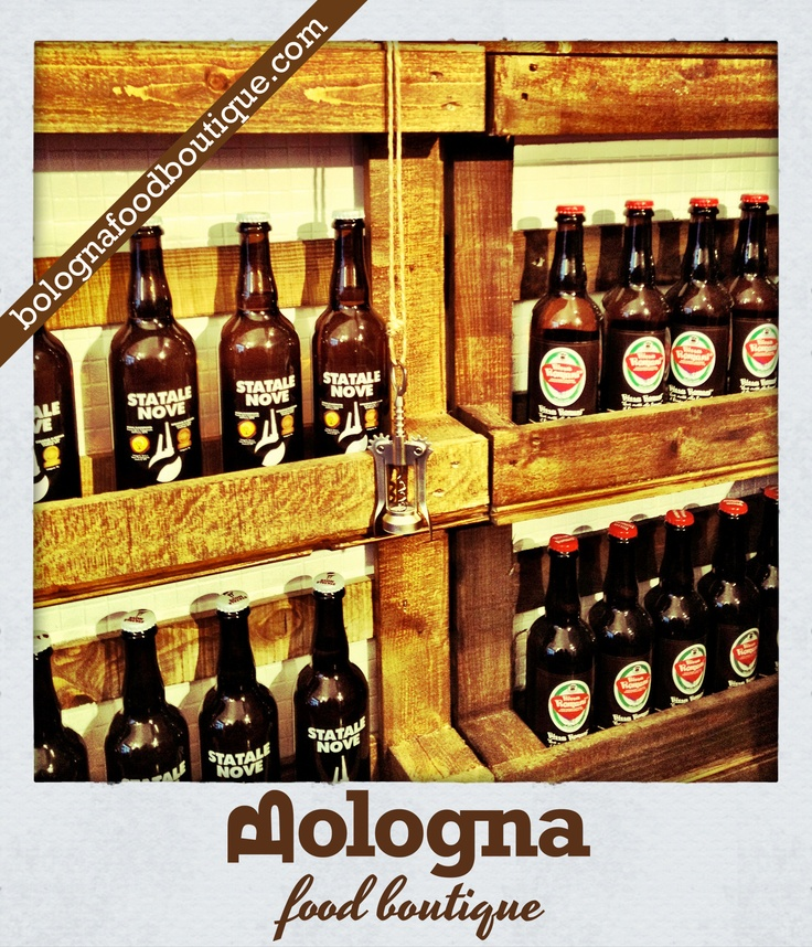 Bologna Food Boutique - Beers!