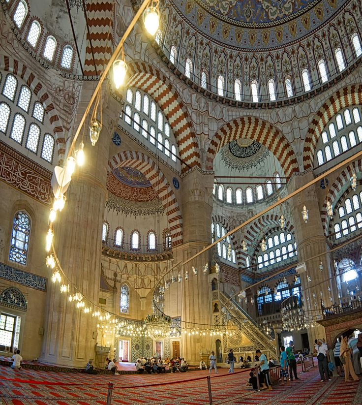 The Selimiye Mosque (Turkish: Selimiye Camii) is an Ottoman mosque in the city of Edirne, Turkey.